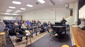 The first Valley Ultimate meeting!